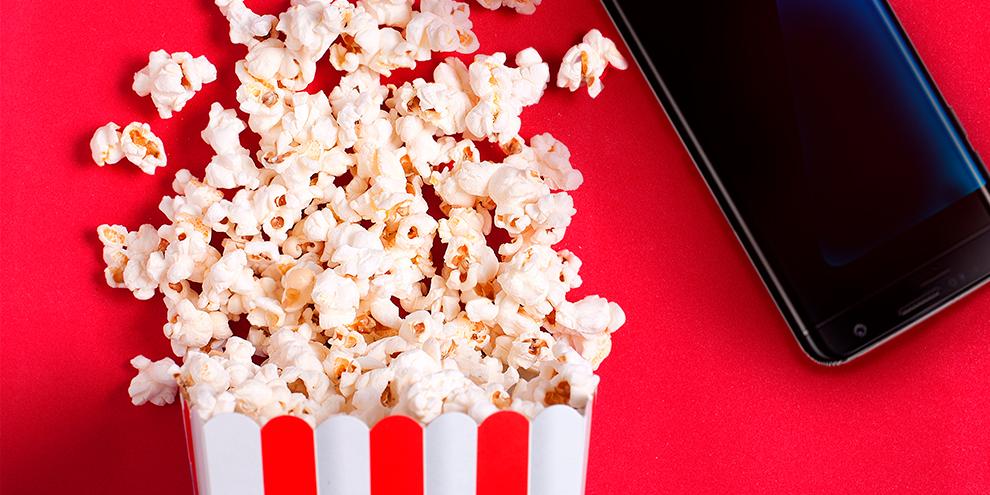 TV, filmes e séries na palma da mão