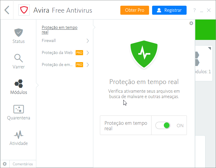 Avira Total Security Suite - Imagem 1 do software