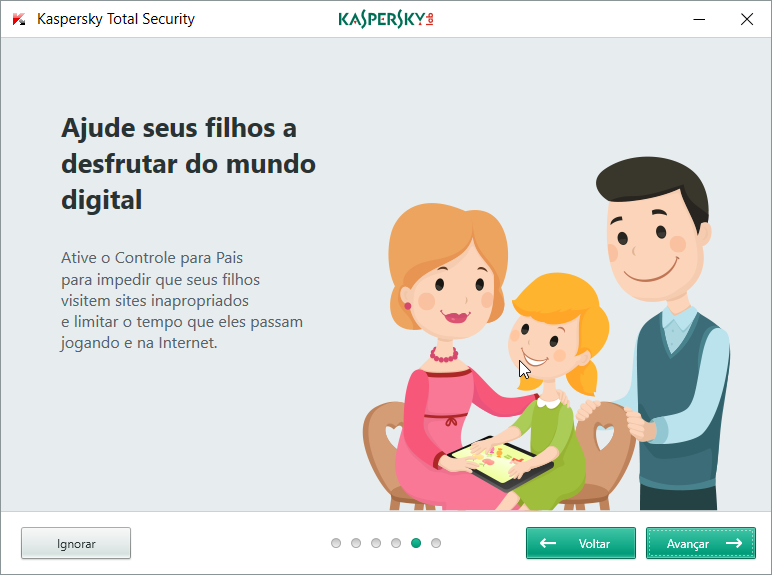 Kaspersky Safe Kids - Imagem 1 do software