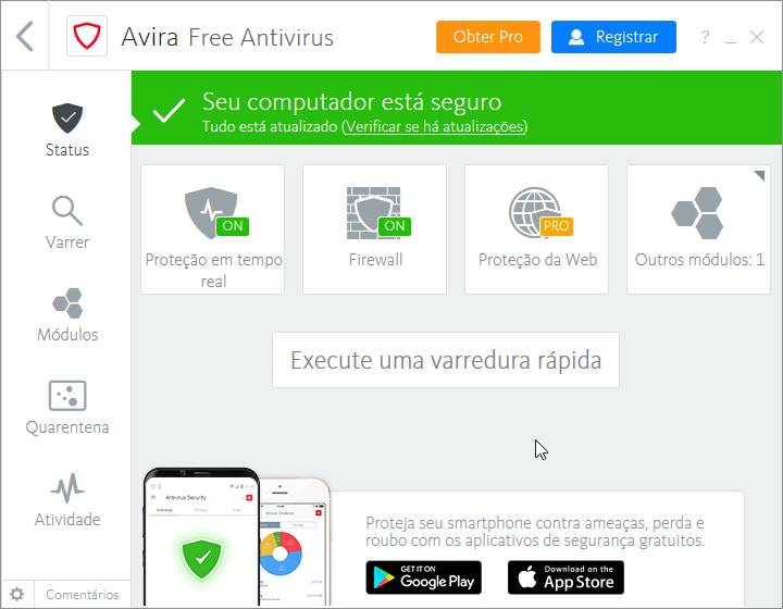 Avira Optimization Suite - Imagem 1 do software