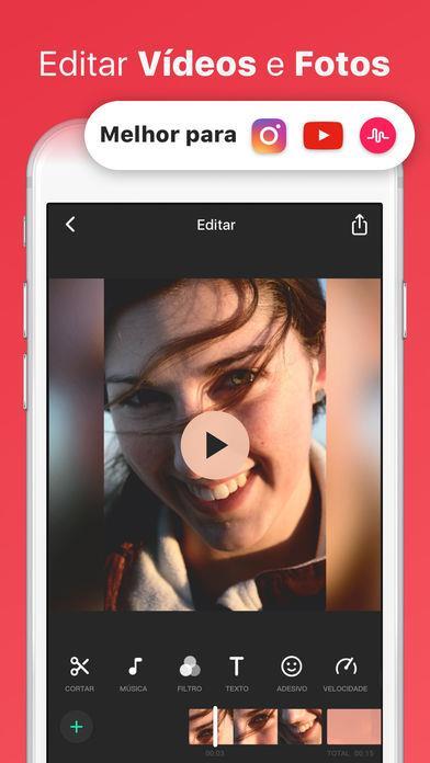 InShot Editor de Vídeo Música - Imagem 1 do software