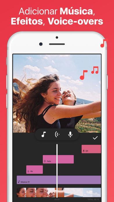 InShot Editor de Vídeo Música - Imagem 2 do software