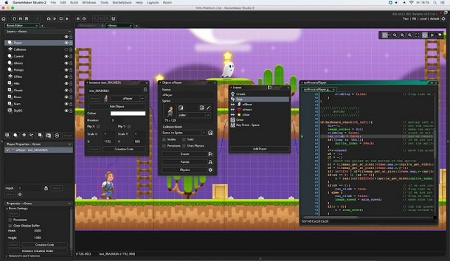 GameMaker Studio 2 - Imagem 1 do software