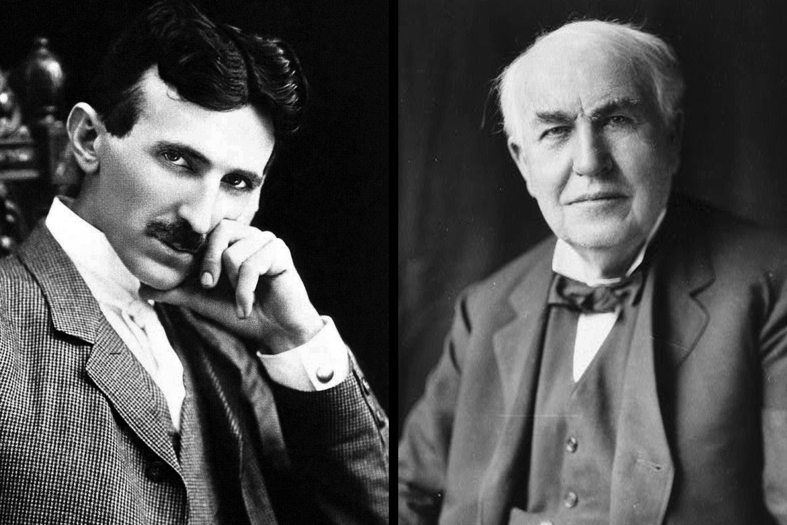 Gênio vs Gênio #1: a rivalidade elétrica entre Thomas Edison e Nikola Tesla