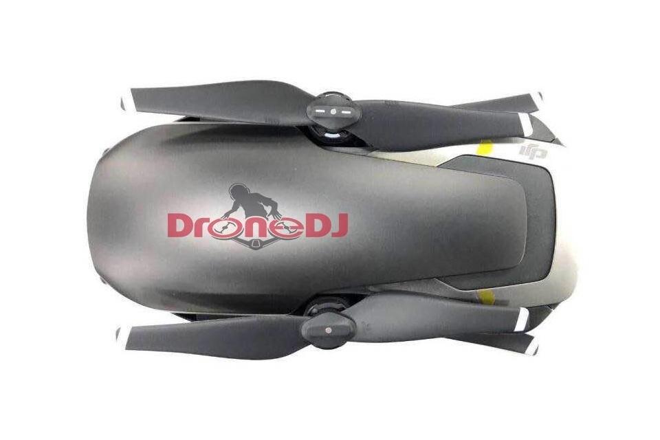 Vazam imagens e especificações sobre o Mavic Air, novo drone da DJI