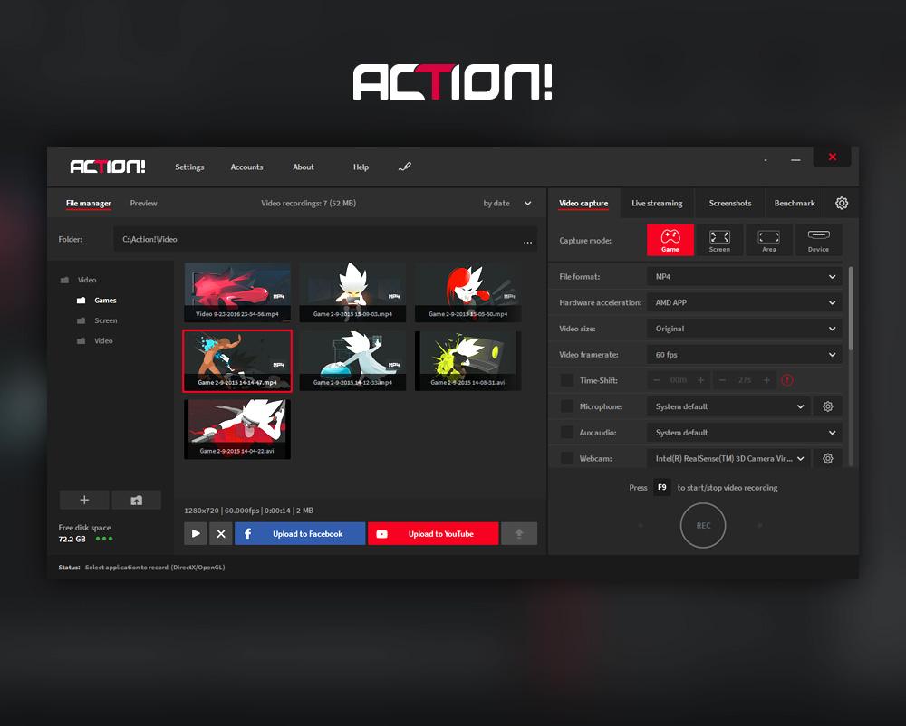 Mirillis Action! - Imagem 4 do software