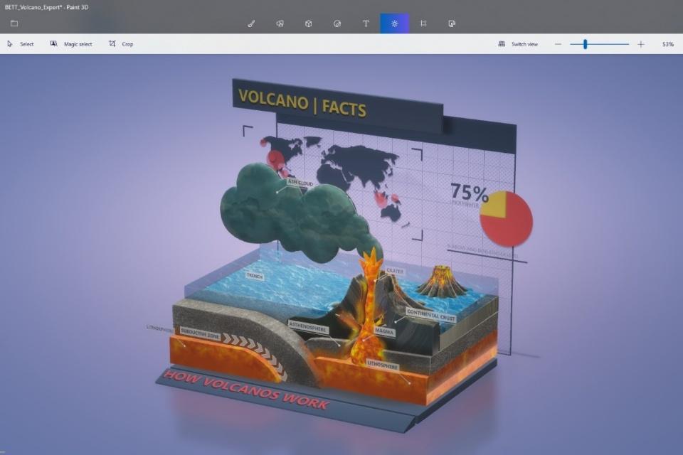 Paint 3D agora permite salvar suas criações como vídeos e GIFs