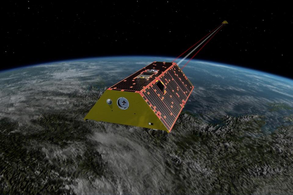 NASA ativa lasers que ajudarão a acompanhar anomalias gravitacionais