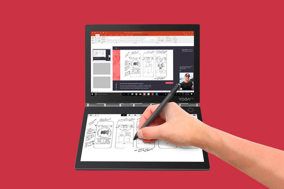 Yoga Book C930: conheça o notebook de duas telas da Lenovo [vídeo]