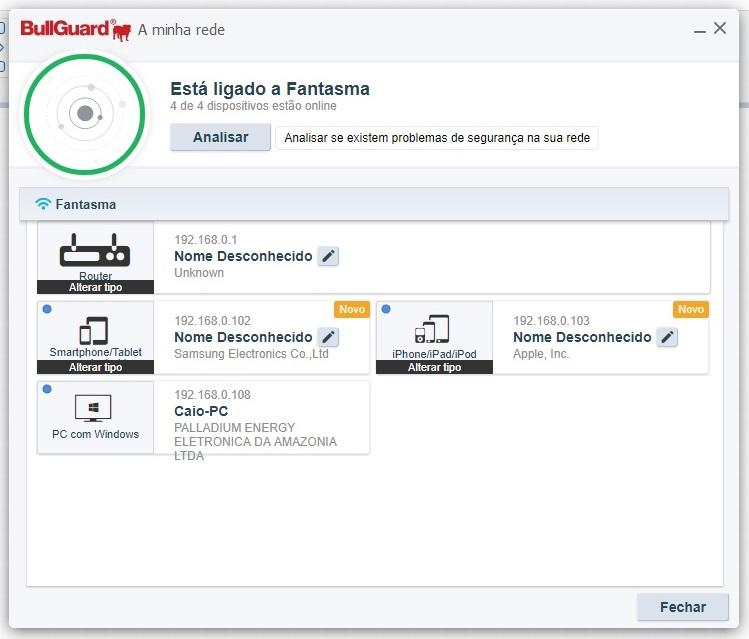 BullGuard Premium Protection 2019 - Imagem 3 do software