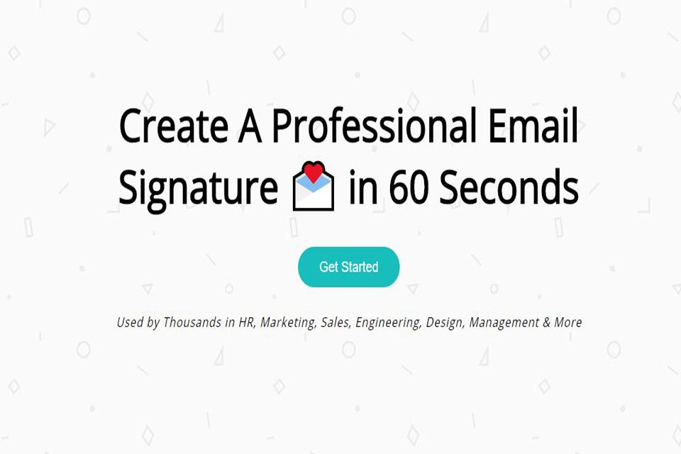 Create a Signature - Imagem 1 do software