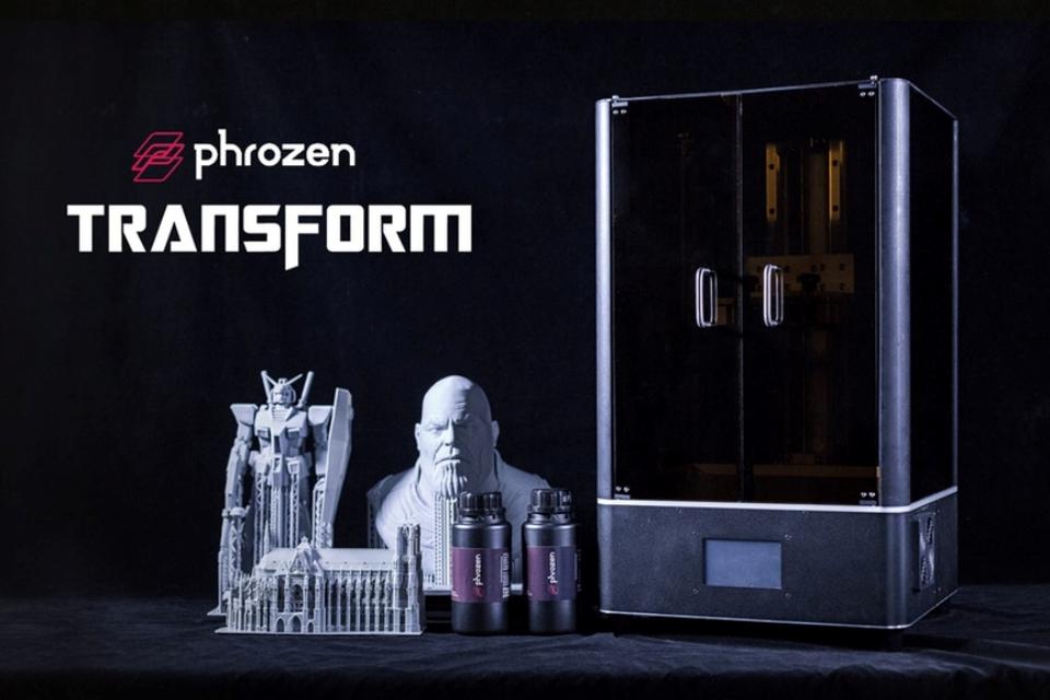 Phrozen anuncia a Transform, sua nova impressora 3D de LCD