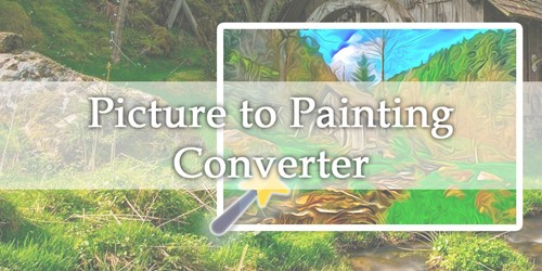 Picture to Painting Converter