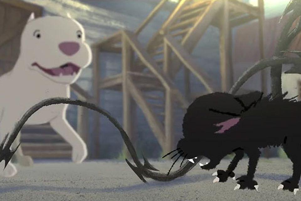 Pixar mostra inusitada amizade entre gatinho e pitbull em curta emocionante