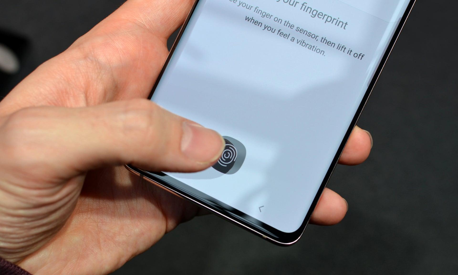 Samsung S10 tem o leitor ultrassônico 'mais avançado' do mundo