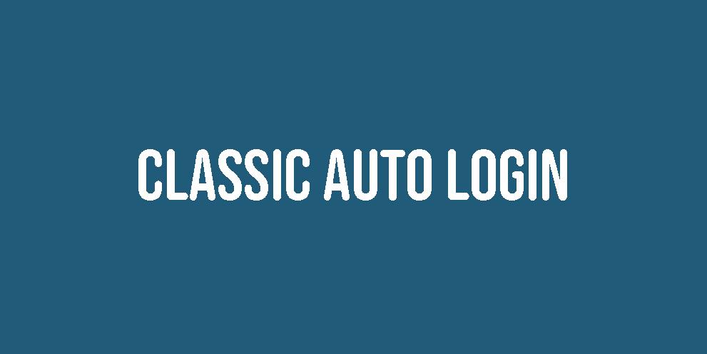 Classic Auto Login 1.0.1