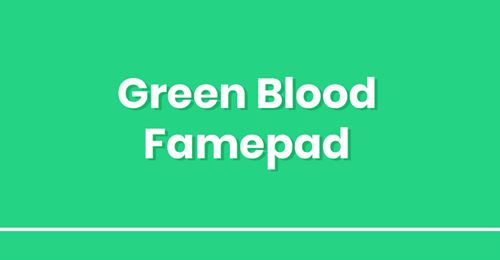 Green Blood Gamepad