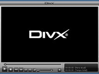 A interface do DivX player é incrívelmente bonita!