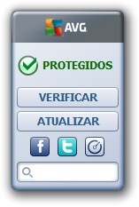Widget do AVG.