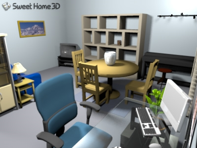 sweet home 3d para linux download. Black Bedroom Furniture Sets. Home Design Ideas