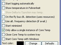 Configure e customize o Core Temp