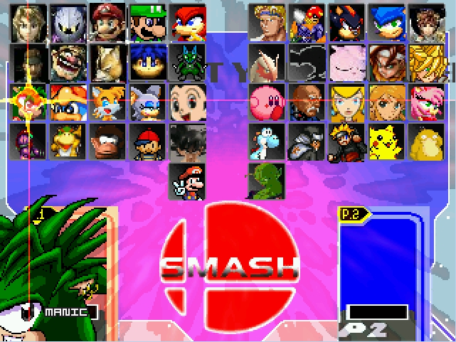 Super Smash Bros All-Stars MUGEN