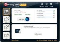 Interface do IOBit Security 360