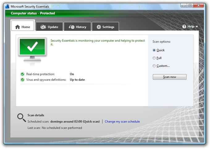 Microsoft Security Essentials 2.0.657.0 135443