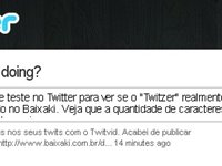 Acabe com a chatice de caracteres do Twitter.
