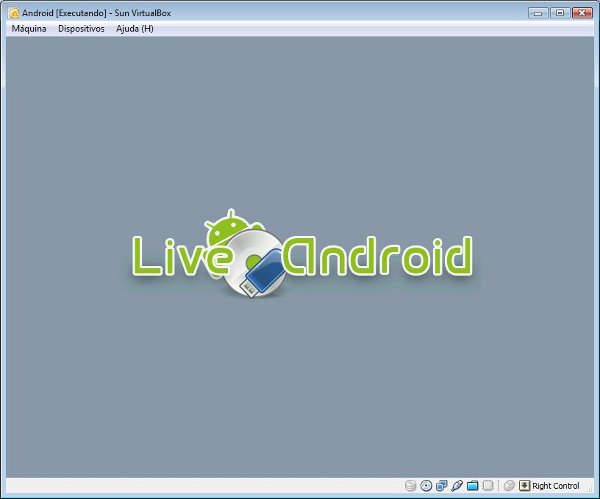 Splash do LiveAndroid