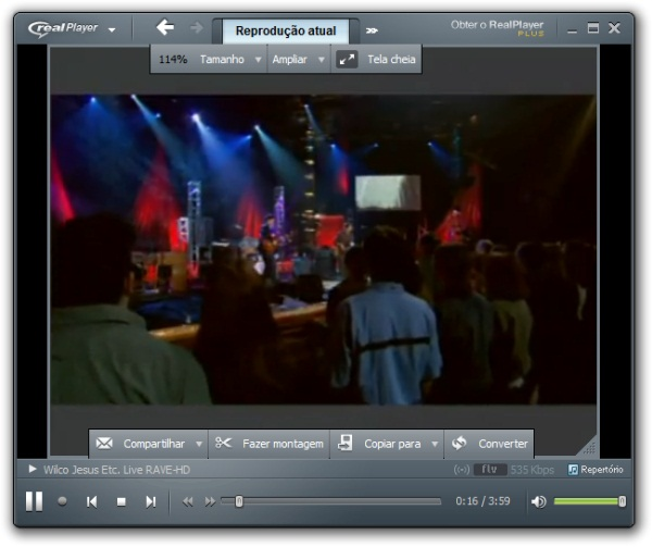RealPlayer SP - Imagem 4 do software