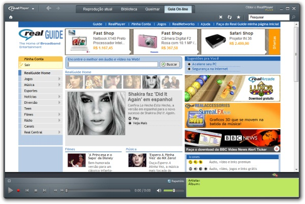 RealPlayer SP - Imagem 1 do software