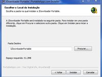 Instala��o do JDownloader Portable
