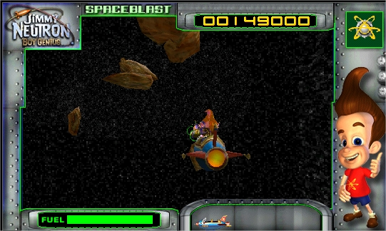 Jimmy neutron space blast download for Space blast 3d