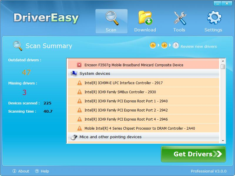 DriverEasy - Imagem 2 do software