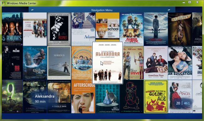 My Movies For Windows Media Center