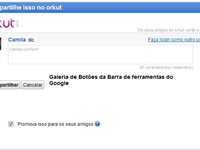 Compartilhe via Orkut Promova