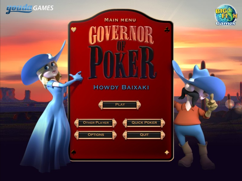 poker governor