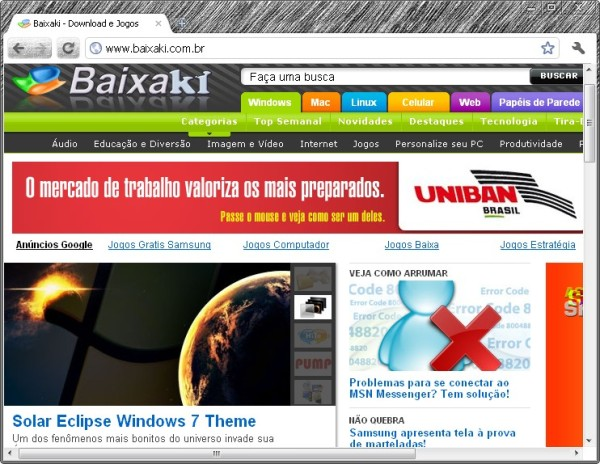Google Chrome Canary download - Baixaki