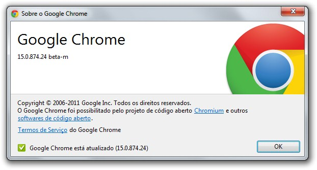 Google Chrome 15 Beta