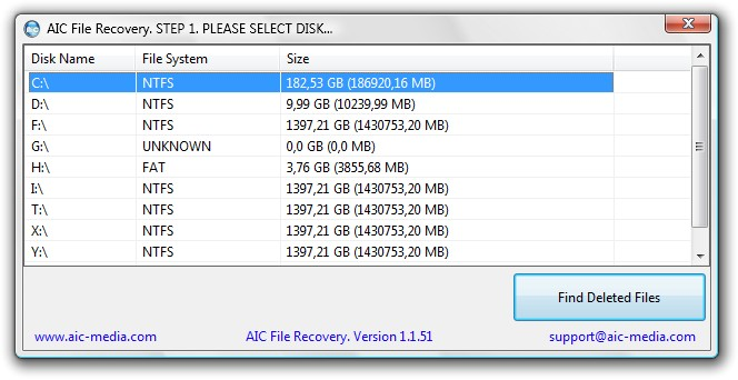 AIC FILE RECOVERY 1.2.7