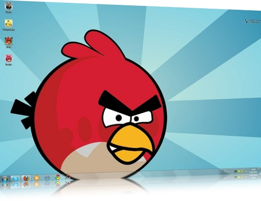 Tema do Angry Birds