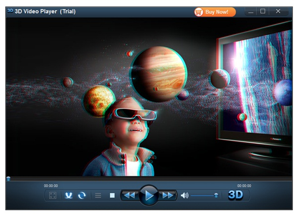 Visual do 3D Video Player