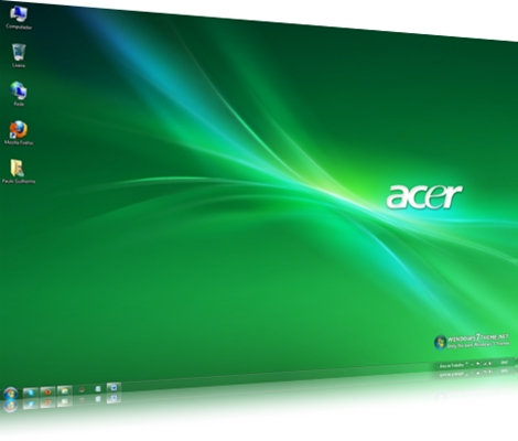 Acer Windows 7 Theme