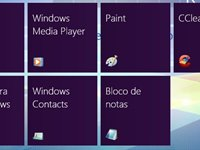 Mosaico do Windows 8