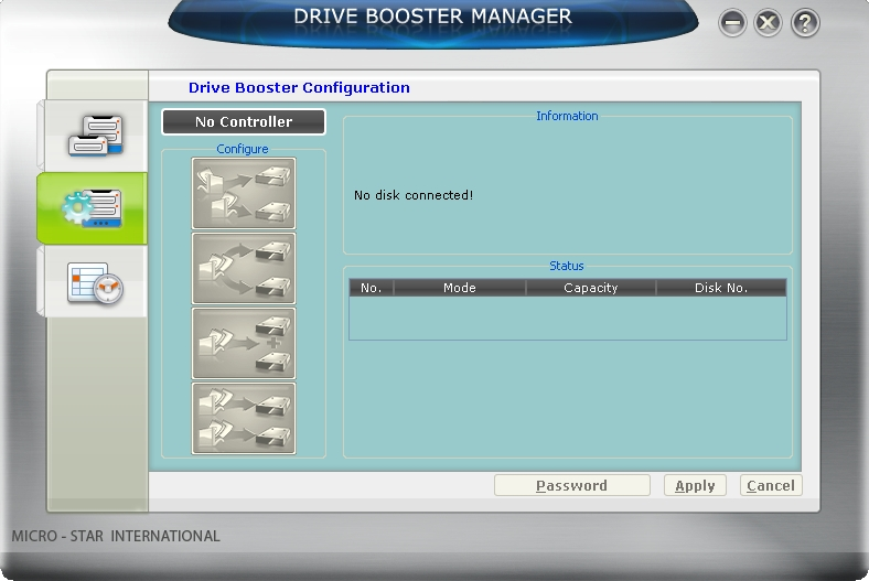 Drive Booster Manager