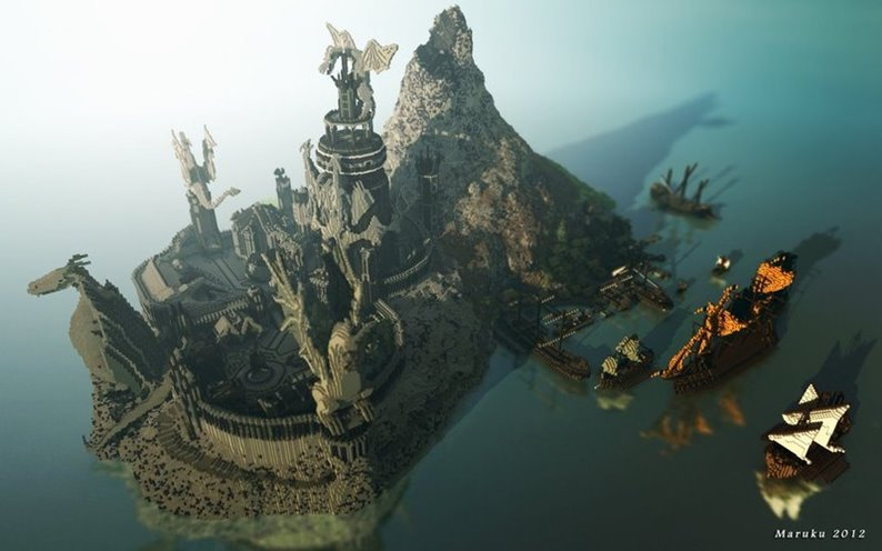 Mundo de Game of Thrones é recriado em Minecraft [galeria]