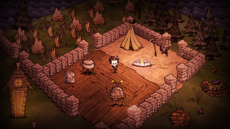 Don't Starve pc capa