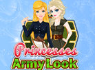 Princesses Army Look