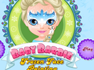Baby Barbie - Frozen Face Painting